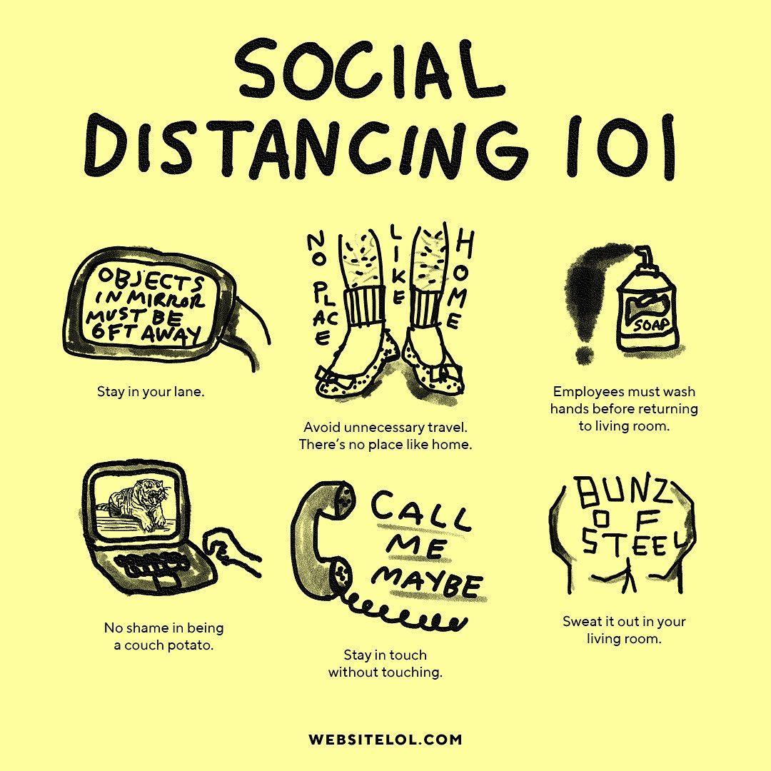 Social Distancing 101 by CDA